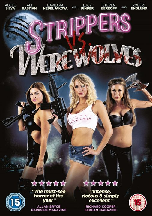 Strippers vs. Werewolves : Kinoposter