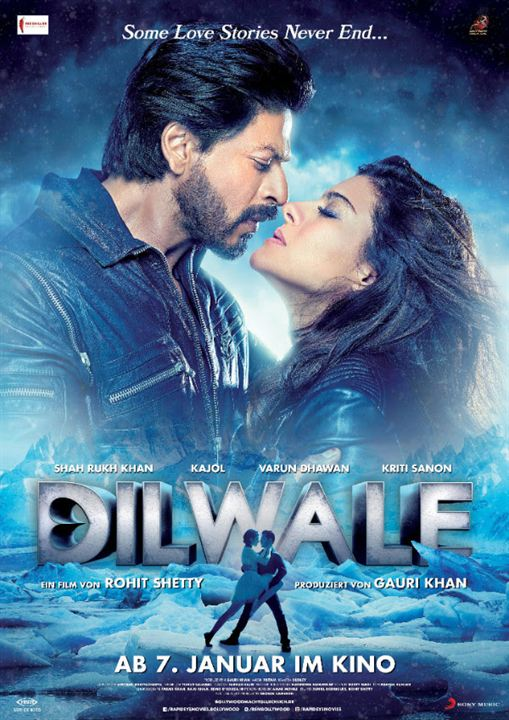 Dilwale : Kinoposter