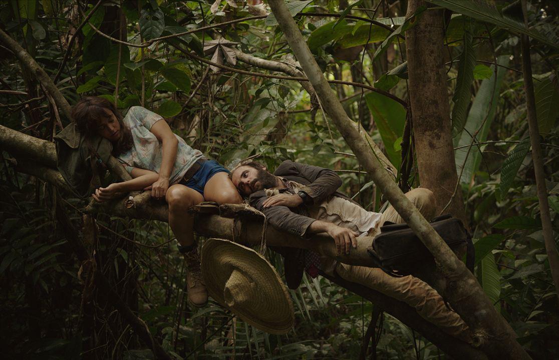Das Gesetz des Dschungels : Bild Vimala Pons, Vincent Macaigne