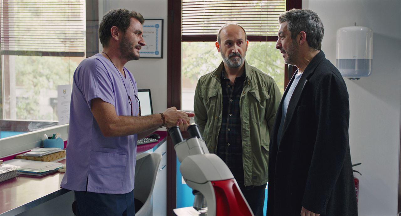 Freunde fürs Leben : Bild Alex Brendemühl, Javier Cámara, Ricardo Darín