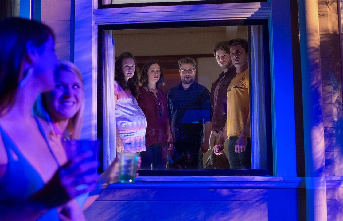 Bad Neighbors 2 : Bild Carla Gallo, Rose Byrne, Seth Rogen, Zac Efron