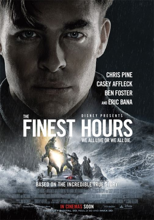 The Finest Hours : Kinoposter