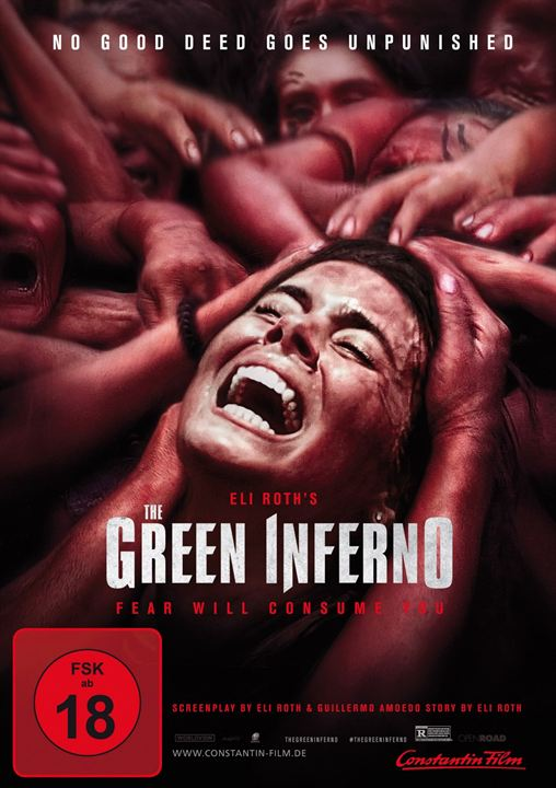 The Green Inferno : Kinoposter