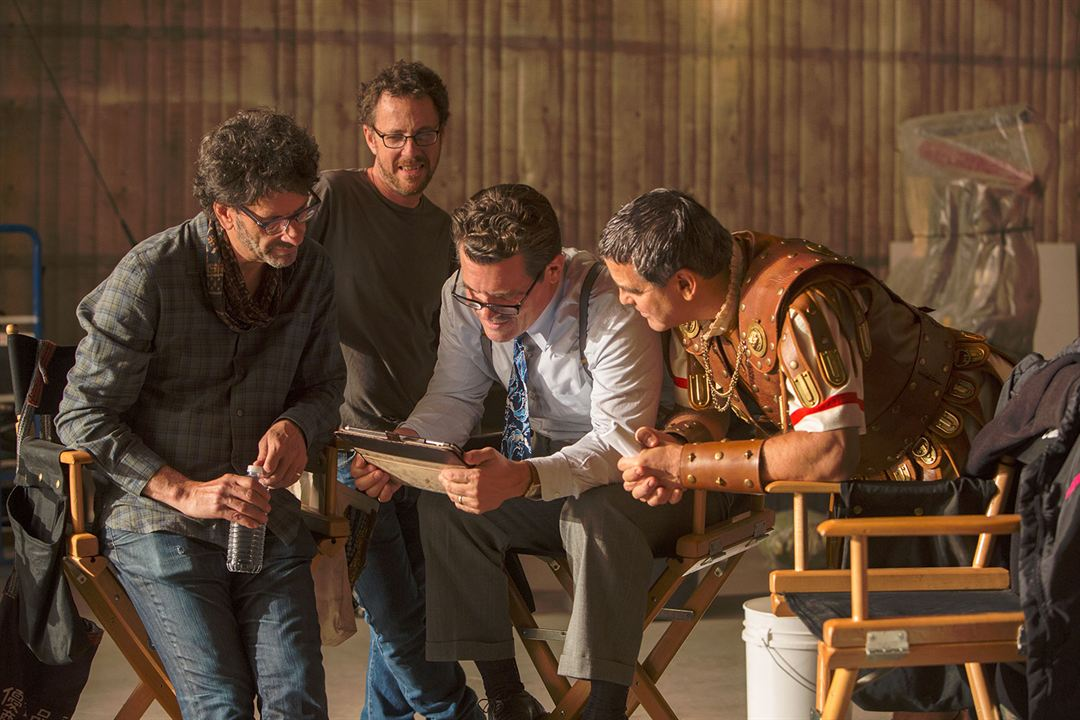 Hail, Caesar! : Bild Ethan Coen, George Clooney, Joel Coen, Josh Brolin