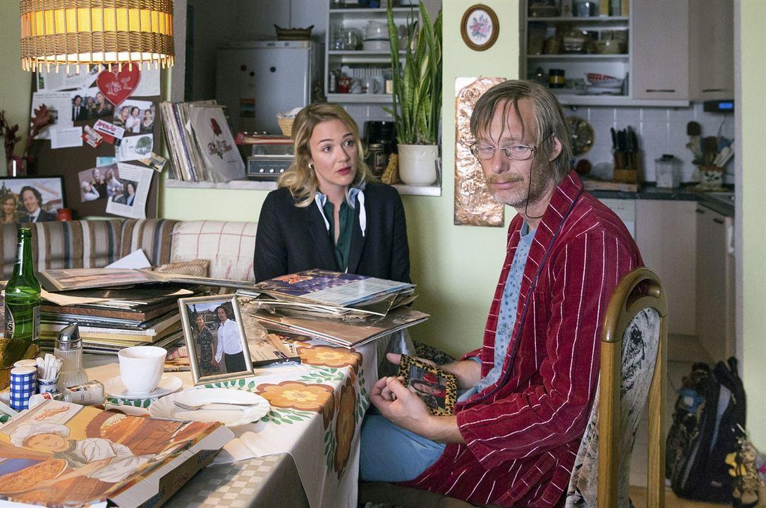 Tatort: Auf einen Schlag : Bild Alwara Höfels, Michael Specht
