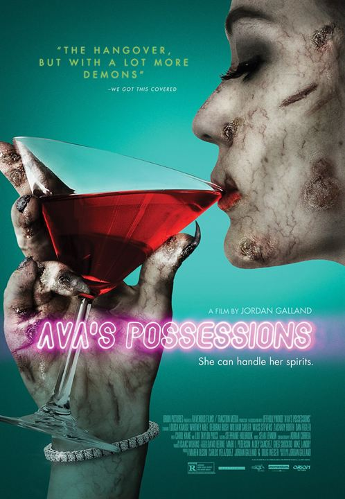 Ava's Possessions : Kinoposter