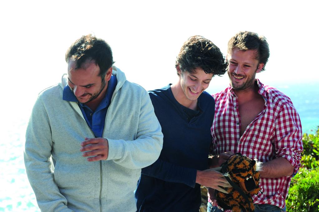Comme des frères : Bild François-Xavier Demaison, Nicolas Duvauchelle, Pierre Niney