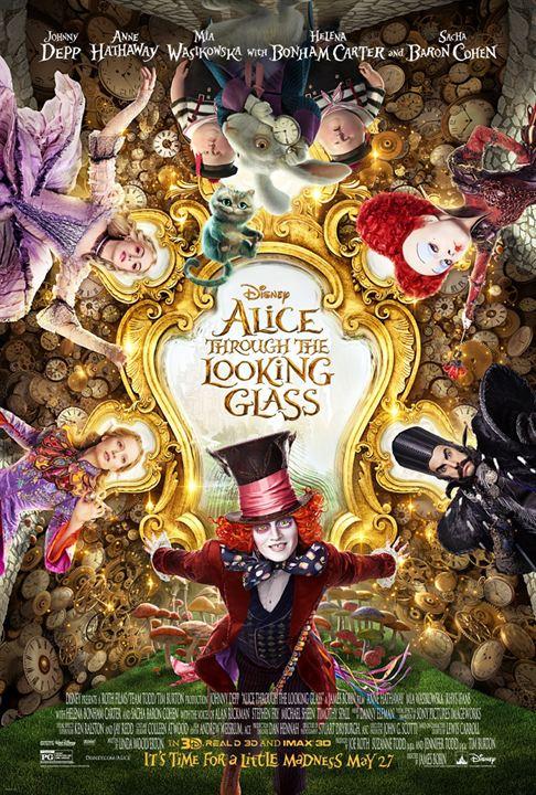 Alice im Wunderland 2: Hinter den Spiegeln : Kinoposter