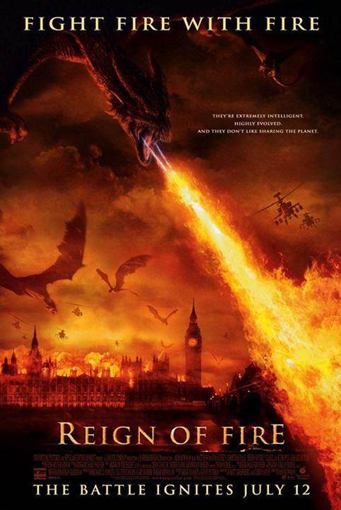 Die Herrschaft des Feuers : Kinoposter