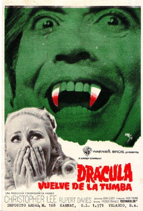 Draculas Rückkehr : Kinoposter