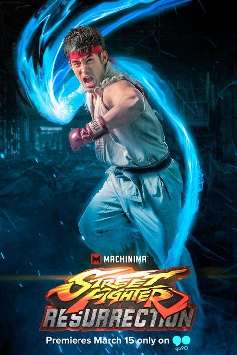 Street Fighter: Resurrection : Kinoposter