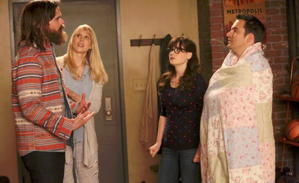 Bild David Walton, Jake Johnson (XVI), Lucy Punch, Zooey Deschanel