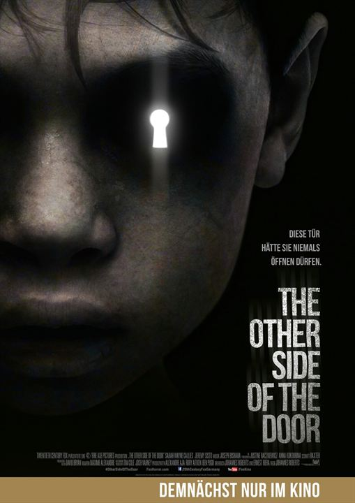 The Other Side Of The Door : Kinoposter