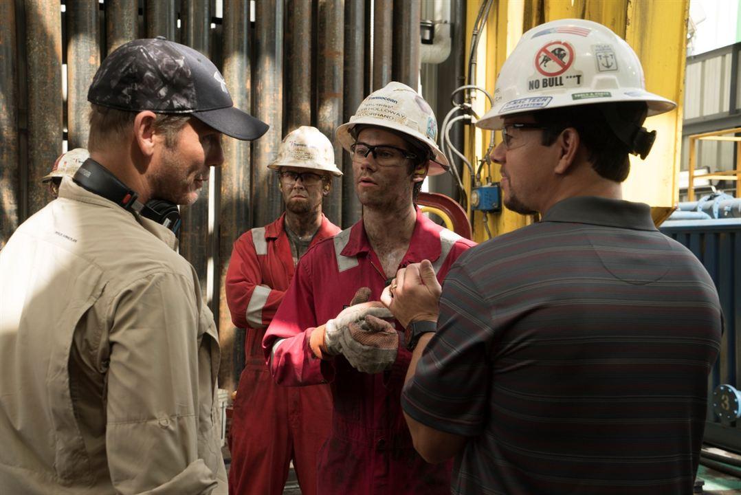 Deepwater Horizon : Bild Dylan O'Brien, Mark Wahlberg, Peter Berg