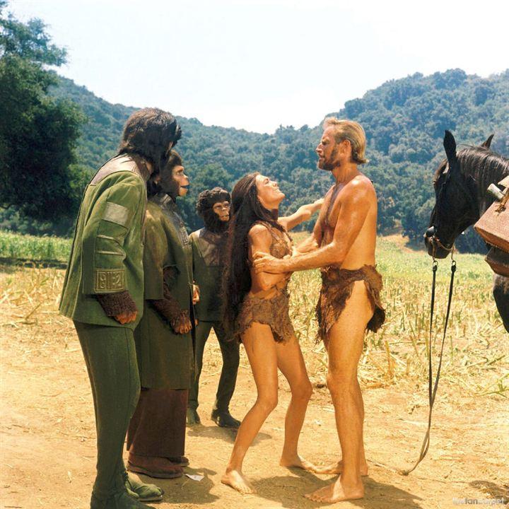 Planet der Affen : Bild Charlton Heston