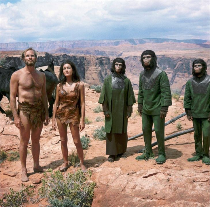 Planet der Affen : Bild Charlton Heston