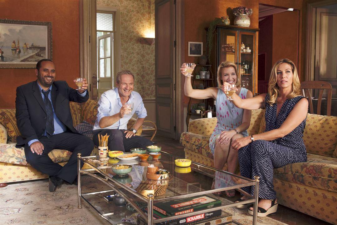 Willkommen im Hotel Mama : Bild Alexandra Lamy, Jérôme Commandeur, Mathilde Seigner, Philippe Lefebvre
