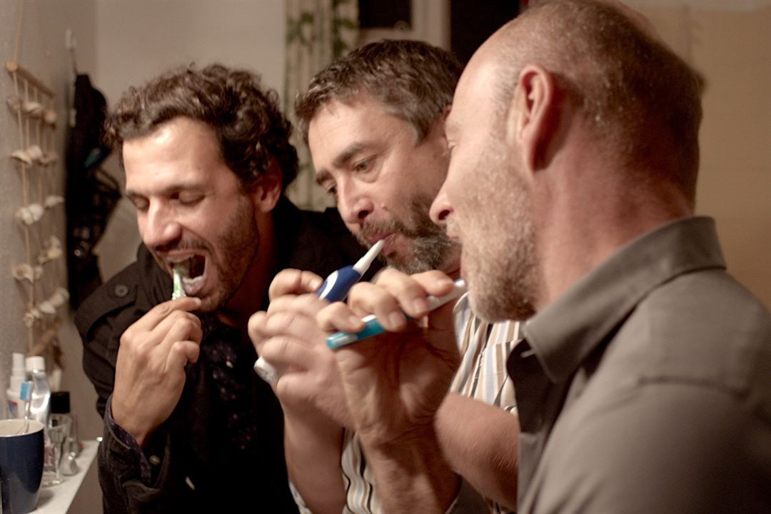 Happy Hour : Bild Alexander Hörbe, Mehdi Nebbou, Simon Licht