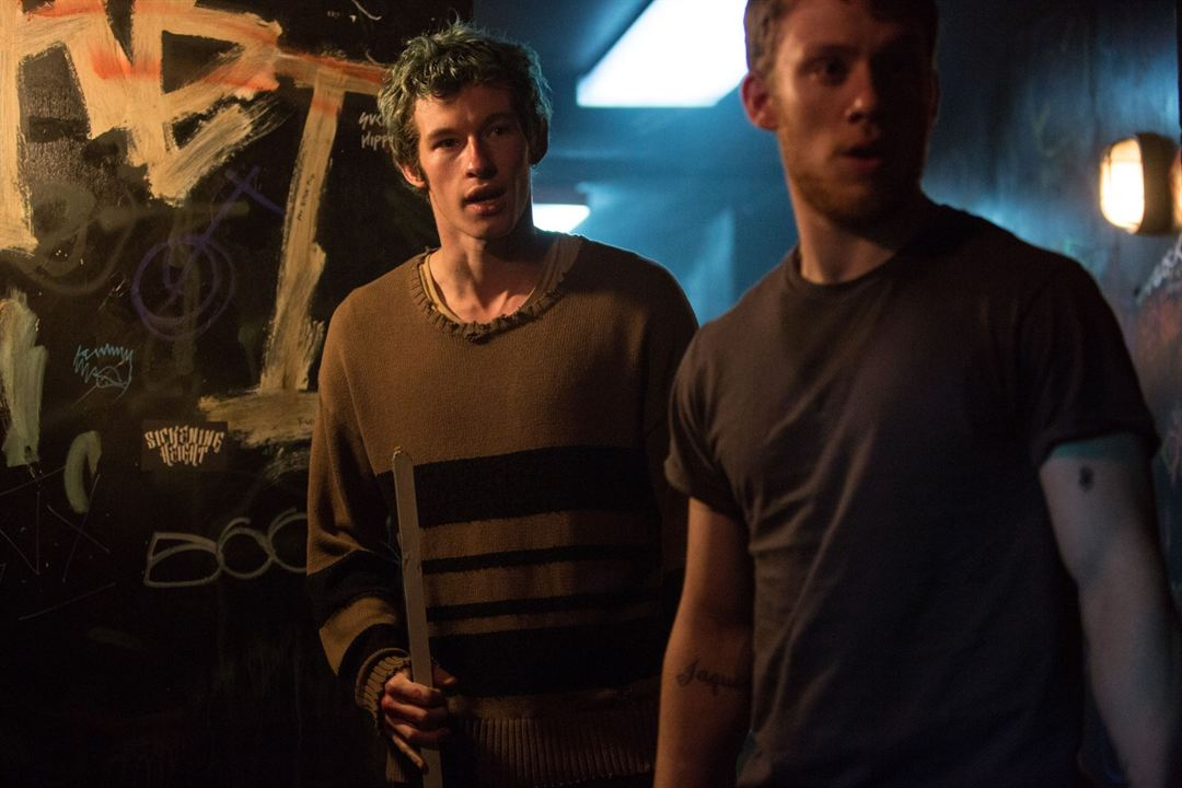 Green Room : Bild Callum Turner, Joe Cole