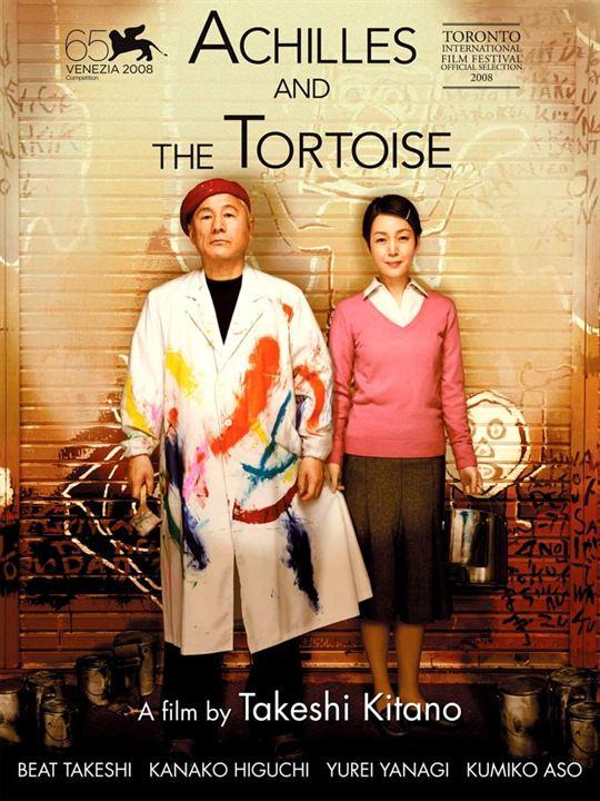 Achilles und die Schildkröte : Kinoposter