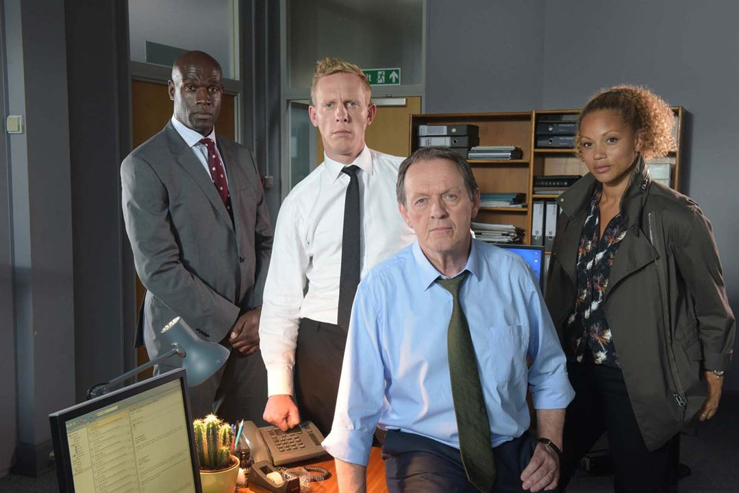 Bild Angela Griffin, Kevin Whately, Laurence Fox, Steve Toussaint
