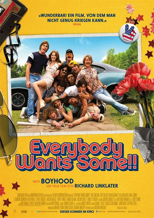 Everybody Wants Some!! : Kinoposter
