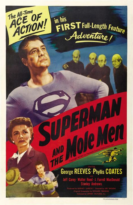 Superman And The Mole-Men : Kinoposter