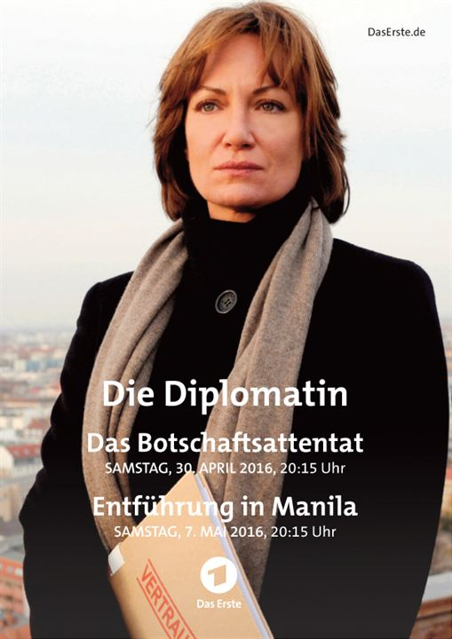 Die Diplomatin - Entführung in Manila : Kinoposter