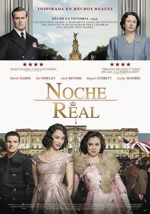 A Royal Night - Ein königliches Vergnügen : Kinoposter