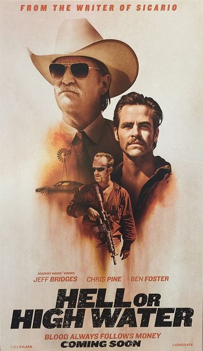 Hell Or High Water : Kinoposter