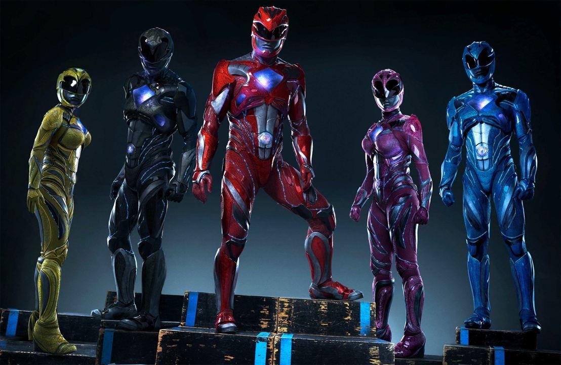 Power Rangers : Bild Becky G, Dacre Montgomery, Ludi Lin, Naomi Scott, RJ Cyler