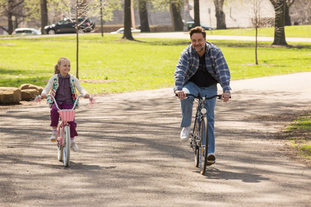 Väter und Töchter - Ein ganzes Leben : Bild Kylie Rogers, Russell Crowe
