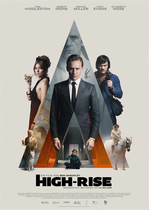 High-Rise : Kinoposter