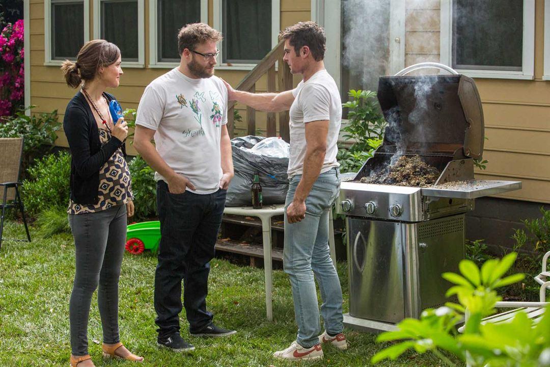 Bad Neighbors 2 : Bild Rose Byrne, Seth Rogen, Zac Efron