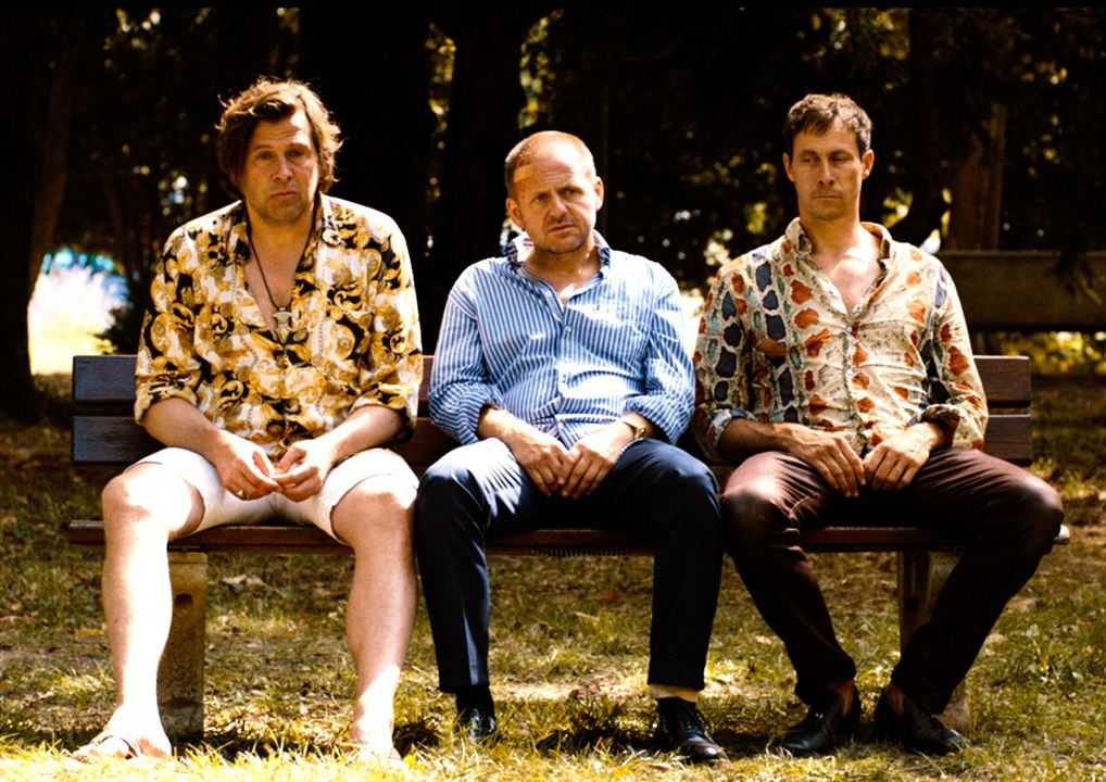 Affenkönig: Hans-Jochen Wagner, Marc Hosemann, Samuel Finzi