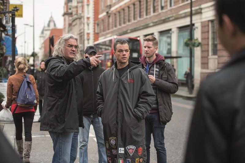 Jason Bourne : Bild Matt Damon, Paul Greengrass