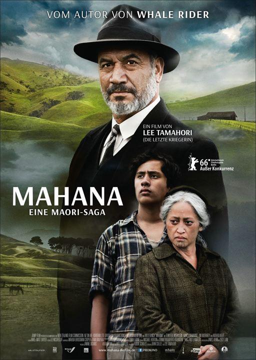 Mahana - Eine Maori-Saga : Kinoposter