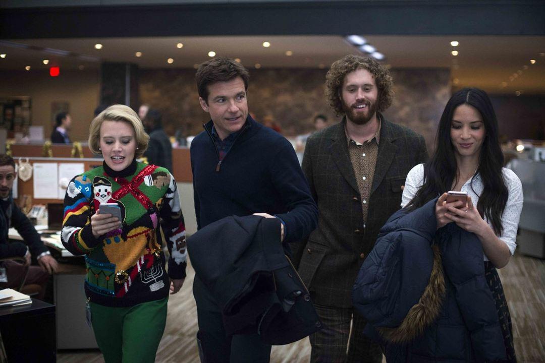 Office Christmas Party : Bild Jason Bateman, Kate McKinnon, Olivia Munn, T.J. Miller