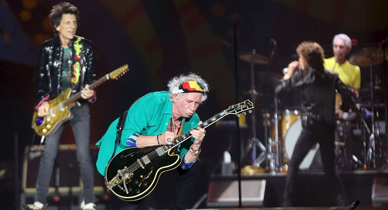 The Rolling Stones in Cuba - Havana Moon : Bild Charlie Watts, Keith Richards, Mick Jagger, Ronnie Wood