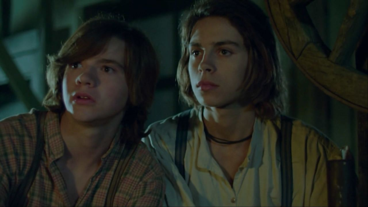 Tom Sawyer & Huckleberry Finn : Bild Jake T. Austin, Joel Courtney