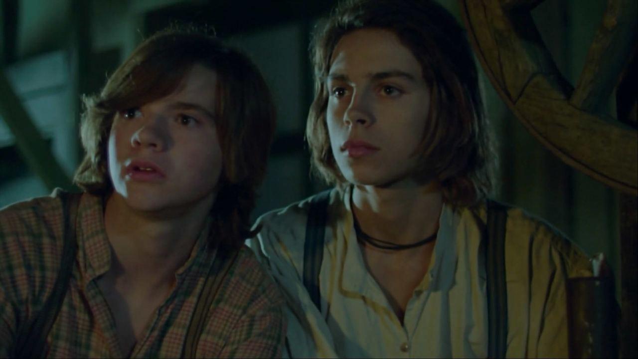 Tom Sawyer & Huckleberry Finn : Bild Jake T. Austin, Joel Courtney