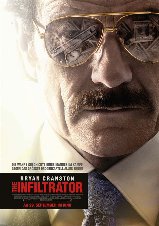 The Infiltrator : Kinoposter