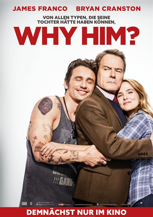 Why Him? : Kinoposter