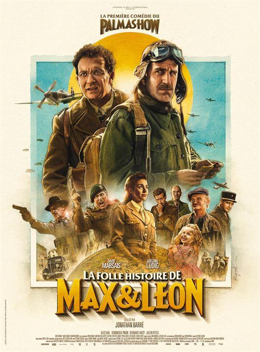 Die verrückte Reise von Max & Leon : Kinoposter