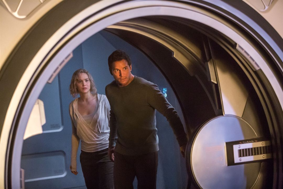 Passengers : Bild Chris Pratt, Jennifer Lawrence