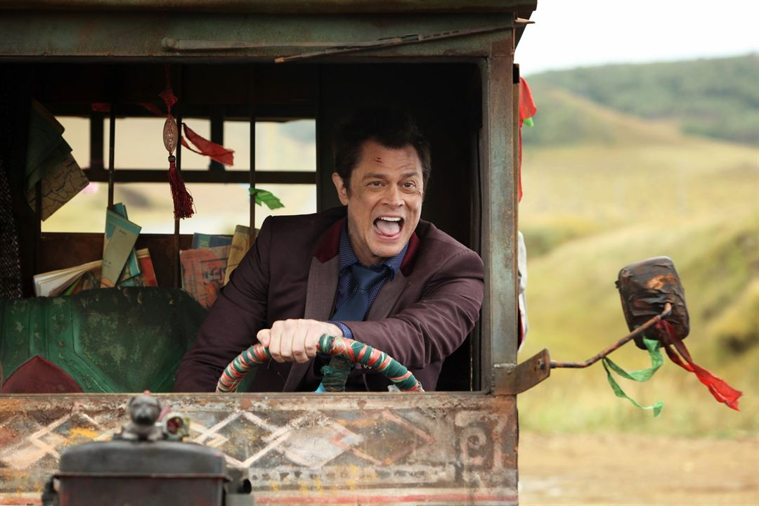 Skiptrace : Bild Johnny Knoxville