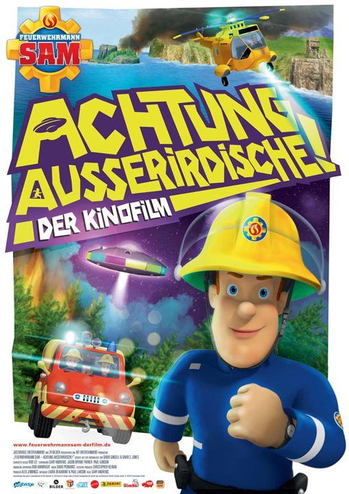 Feuerwehrmann Sam - Achtung Außerirdische! : Kinoposter