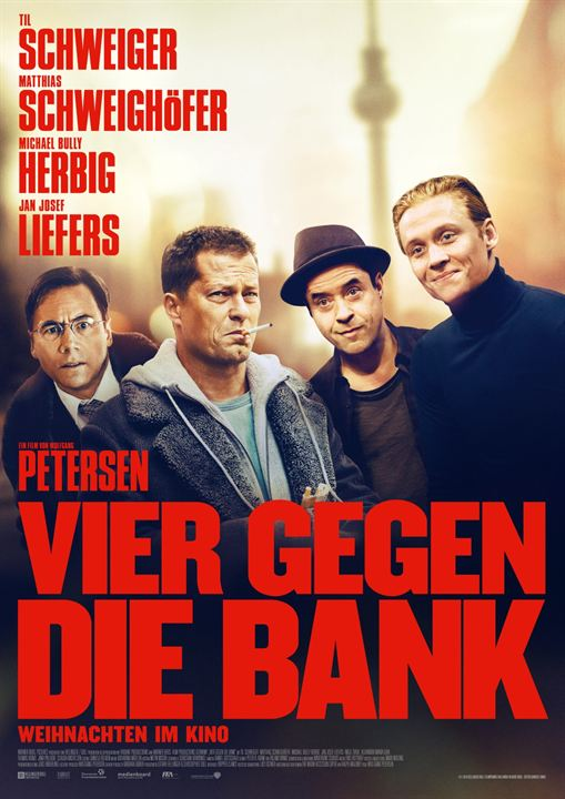 Vier gegen die Bank : Kinoposter