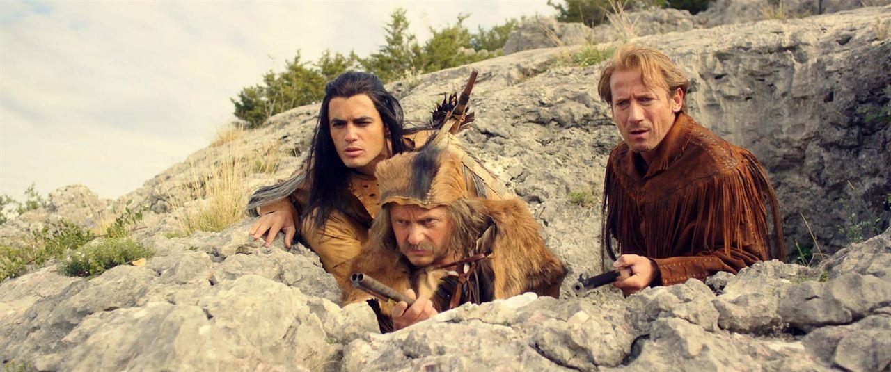 Winnetou 2 - Das Geheimnis vom Silbersee : Bild Milan Peschel, Nik Xhelilaj, Wotan Wilke Möhring