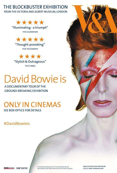 David Bowie is : Kinoposter